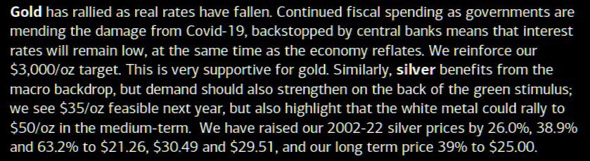 BofA: Gold to $3,000